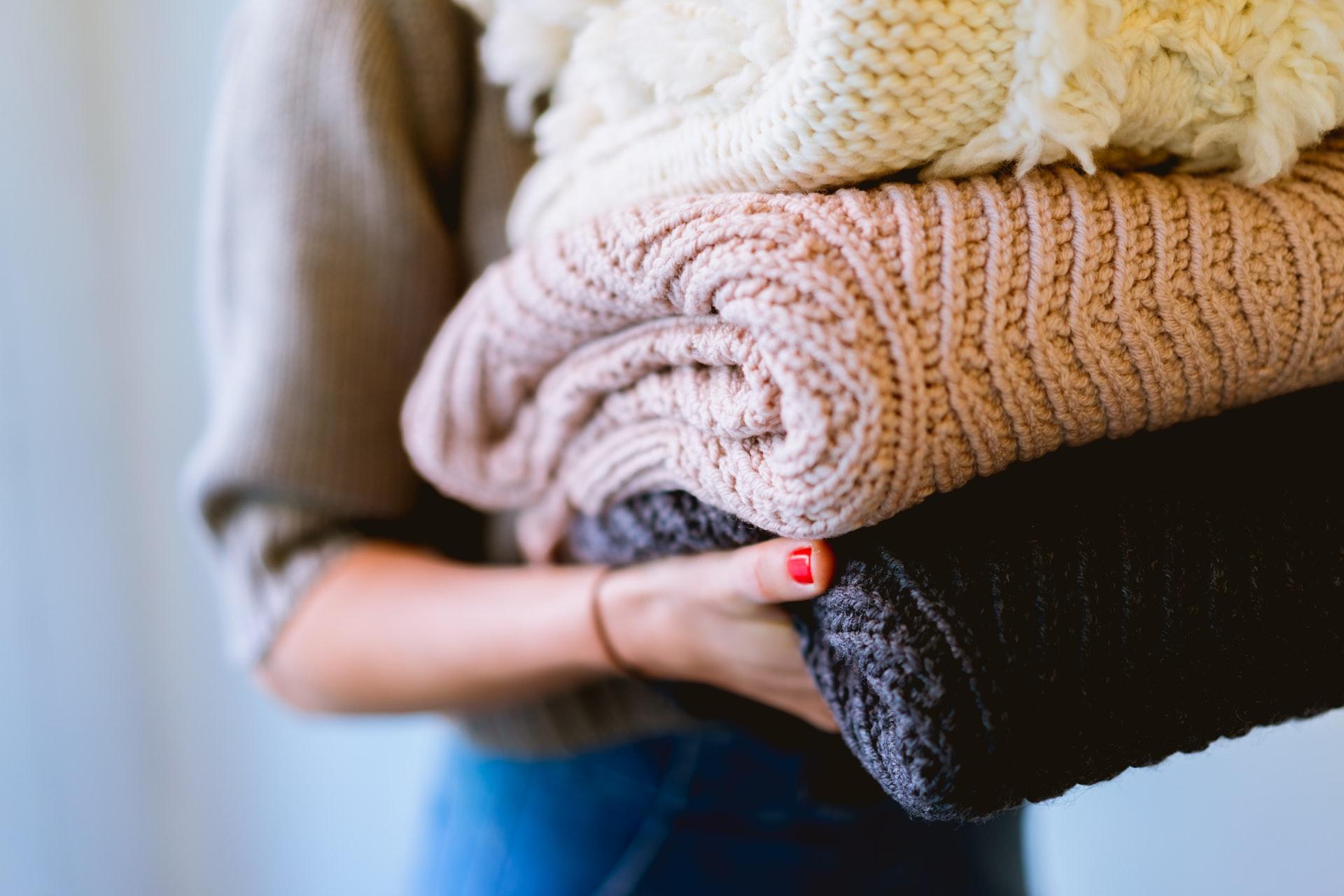 3冬物の衣類は、通気性が悪く、汗がこもってしまいがちだから。