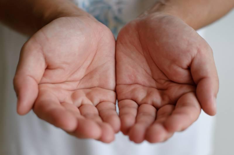 デトランスα手汗用の特徴②手掌多汗症の手汗にも使える!